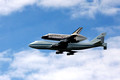Space Shuttle Discovery DC Flyby
